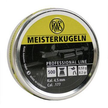 RWS Meisterkugeln 177 Cal. Pellet (500) - Discontinued Model