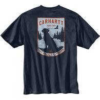 Carhartt Men's Original Fit Heavyweight Short-Sleeve Pocket Dog Graphic T-Shirt