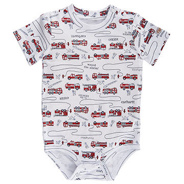 Carhartt Infant/Toddler Boys' To The Rescue Printed Bodyshirt
