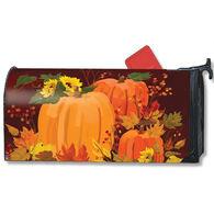 MailWraps Harvest Pumpkins Magnetic Mailbox Cover