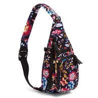 Vera Bradley Signature Cotton Mini Sling Backpack