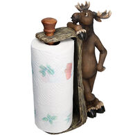 Rivers Edge Moose Paper Towel Holder