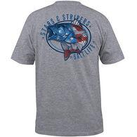 Salt Life Men's Stars and Stripers Pocket Short-Sleeve T-Shirt