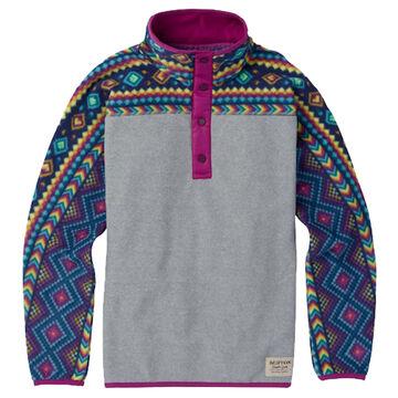 Burton Girls & Boys Spark Anorak Fleece Pullover Jacket