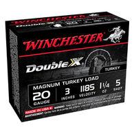 "Winchester Double X 20 GA 3"" 1-1/4 oz. #5 Shotshell Ammo (10)"