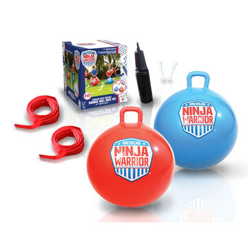 b4 Adventure American Ninja Warrior Race Hop Ball Set