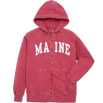 A.M. Mens Maine Arch Full-Zip Hooded Sweatshirt