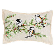 "Paine Products Balsam Fir 5"" x 4""  Chicadee Pillow"