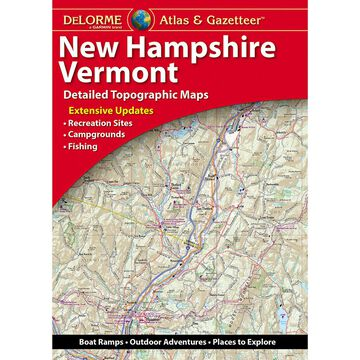 DeLorme New Hampshire Vermont Atlas & Gazetteer