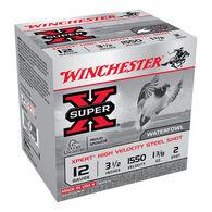 "Winchester Super-X Xpert Hi-Velocity Steel 12 GA 3-1/2"" 1-3/8 oz. #2 Shotshell Ammo (25)"
