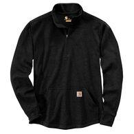 Carhartt Men's Relaxed Fit Heavyweight Half-Zip Thermal Long-Sleeve T-Shirt