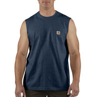 Carhartt Men's Big & Tall Workwear Pocket Sleeveless T-Shirt
