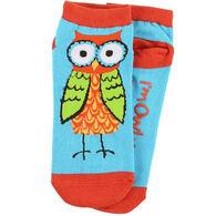 Lazy One Women's Owl Yours Slipper Sock