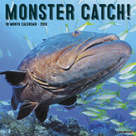 Willow Creek Press Monster Catch 2019 Wall Calendar