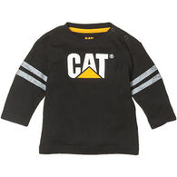 CAT Apparel Toddler Boys' Logo Long-Sleeve T-Shirt