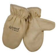 Kinco Boys' & Girls' Lined Ultra-Suede Axeman Mitt
