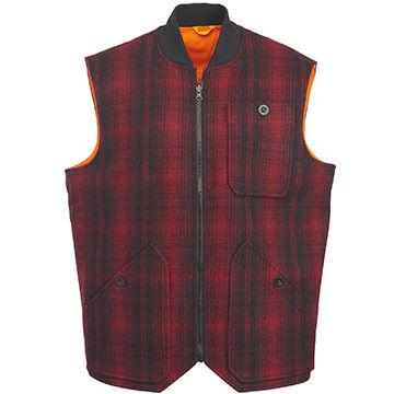 Woolrich Mens Reversible Whitetail Vest