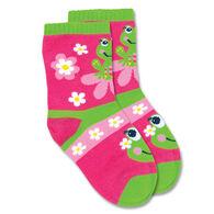 Stephen Joseph Toddler Frog Sock