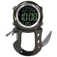 Dakota Digital Zip Clip Carabiner Watch w/ Knife
