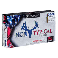 Federal Non-Typical 30-06 Springfield 180 Grain Soft Point Rifle Ammo (20)