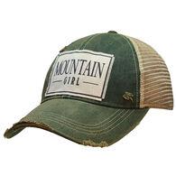 Vintage Life Women's Mountain Girl Trucker Hat