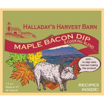 Halladays Harvest Barn Maple Bacon Dip & Cooking Blend