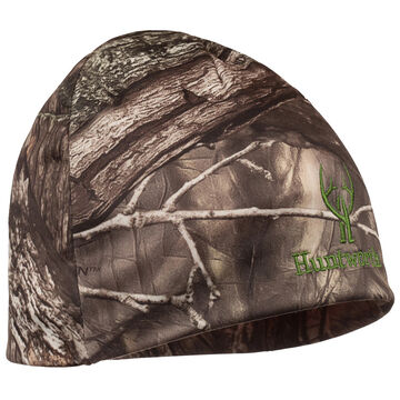 Huntworth Youth Reversible Performance Fleece Camo/Blaze Beanie