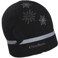TrailHeads Women's Snowflake Ponytail Hat