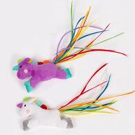 Pet Park Blvd Rainbow Unicorn Cat Toy