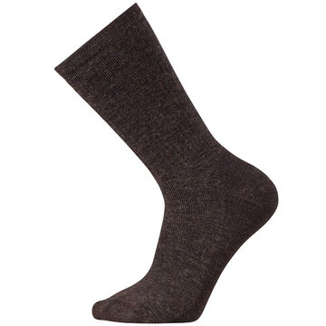 SmartWool Mens Heavy Heathered Rib Crew Sock