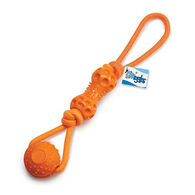 Grriggles Ruff Rope Ball & Bone Tugs Dog Toy