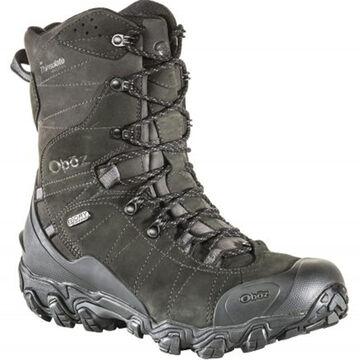 Oboz Mens Bridger 10 Waterproof BDry Insulated Hiking Boot, 400g