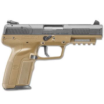 FN Five-seveN FDE 5.7x28mm 4.8 20-Round Pistol