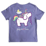 Puppie Love Youth Unicorn Pup Short-Sleeve T-Shirt