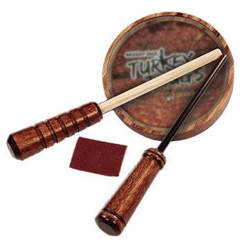 Quaker Boy Thugs Rim Shot Hardwood Glass Turkey Call