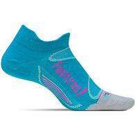 Feetures! Women's Elite Merino + Ultra Light Cushion No Show Tab Sock