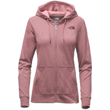 The North Face Womens Lightweight Tri-Blend Full-Zip Hoodie