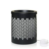 Yankee Candle Scenterpiece Wax Warmer - Onyx Interlock
