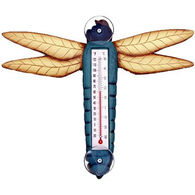 Bobbo Blue Dragonfly Window Thermometer