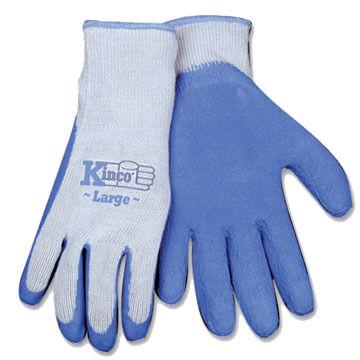 Kinco Mens Latex Palm Gripping Glove