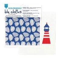 Rockflowerpaper Coastal Cape Eco Friendly Blu Dish Cloth - 2 Pack