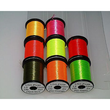 Wapsi Uni Neon Floss Thread Fly Tying Material
