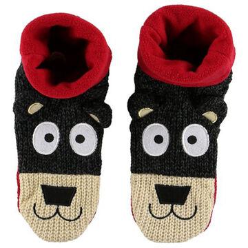 Lazy One Boys & Girls Bear Woodland Slipper Sock