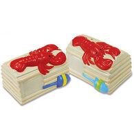 Cape Shore Lobster Traps Salt & Pepper 2 Piece Set