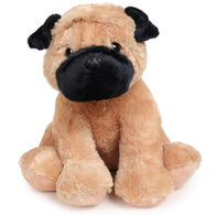 "Aurora Pugster 14"" Plush Stuffed Animal"