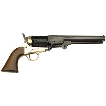 Traditions 1851 Navy Steel 44 Cal. Black Powder Revolver