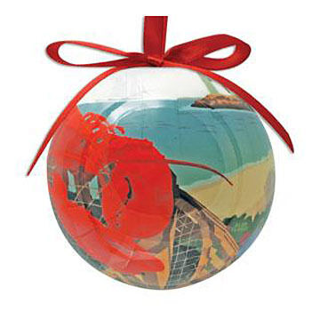 Cape Shore Spliced Ball Lobster Harbor Ornament