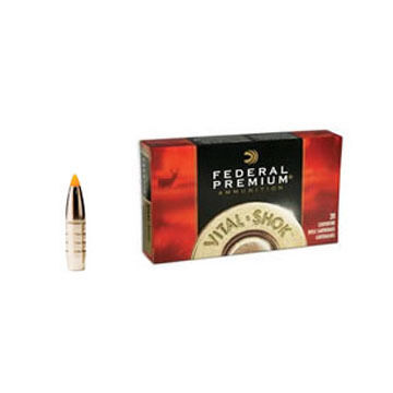 Federal Premium Vital-Shok 270 Winchester 140 Grain Trophy Bonded Tip Rifle Ammo (20)
