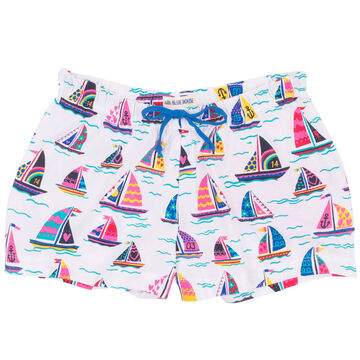 Hatley Womens Pretty Sailboats Sleep Short