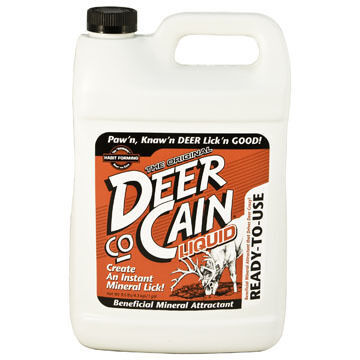 Evolved Habitats Deer co-Cain Liquid Attractant Mineral Supplement